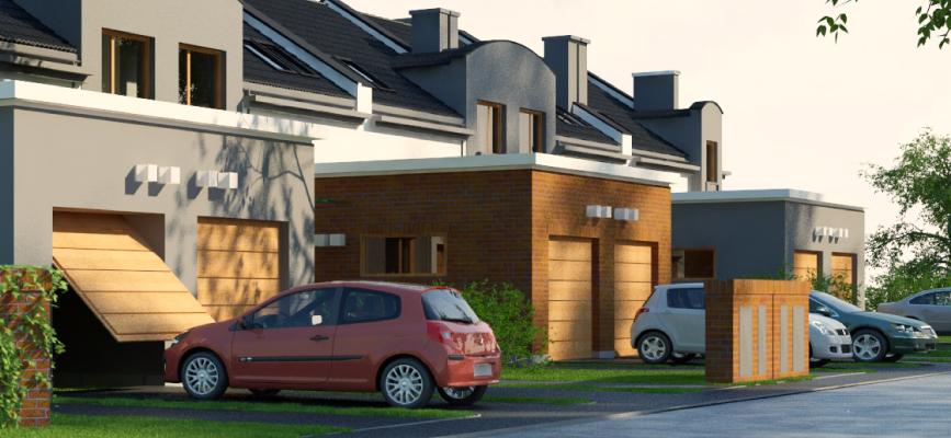 Dobra lokalizacja - dom w zabudowie szeregowej Osiedle Białe