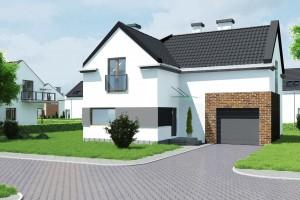 Budynek mieszkalny jednorodzinny Osiedle Białe AOA Deweloper - Front 1