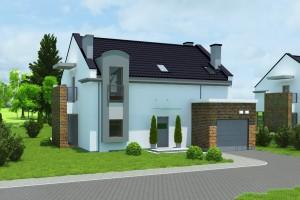 Budynek mieszkalny jednorodzinny Osiedle Biale AOA Deweloper - Front 2